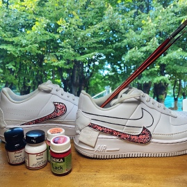 Air force 1 dipinte a mano